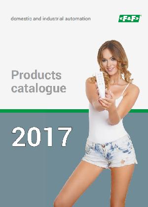 catalogue produits F&F, composants domotique et d