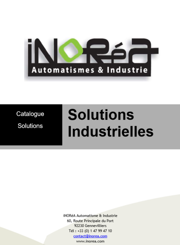 SOLUTIONS D'AUTOMATISATION