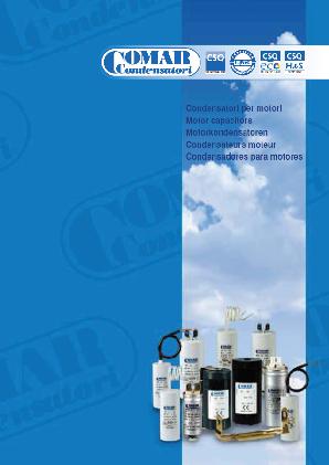 catalogue Comar condensateur moteur électrique technic-achat