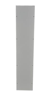 Plaque de fermeture latérale en acier émaillé