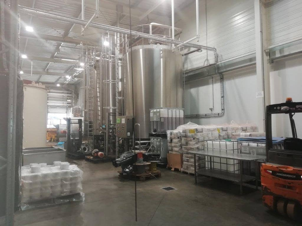 gestion de cuves agroalimentaires