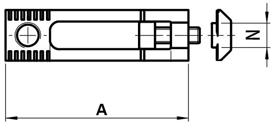 schema equerre de fixation interieure