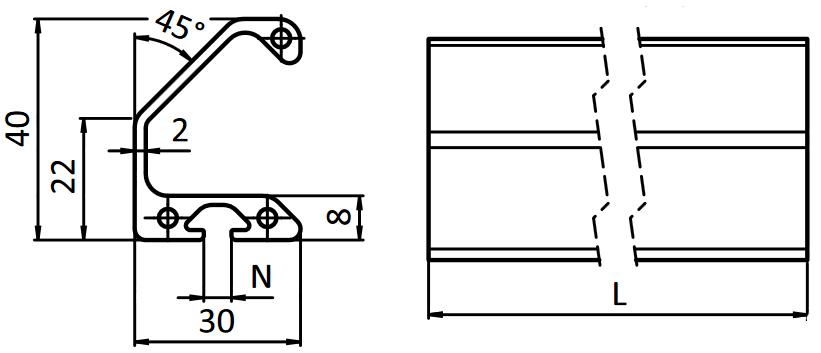 fichier 3d plaque de renfort en alu