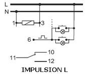 schema cablage télérupteur 0.8W