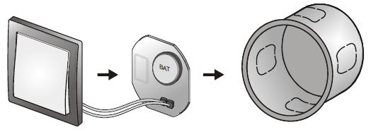 schema interrupteur pour relais