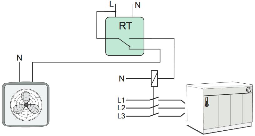 schema sonde convertisseur de température
