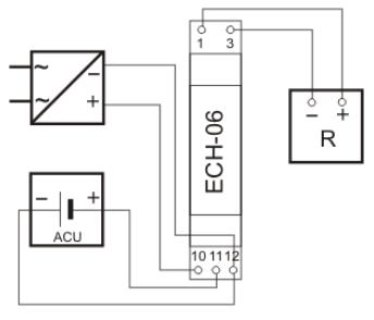 Schéma explicatif d'un chargeur modulaire pour accumulateur
