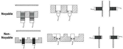 Schéma détecteur inductif M8 - Détection des pièces métalliques