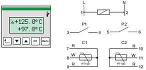 schema controleur de température 10 fonctions