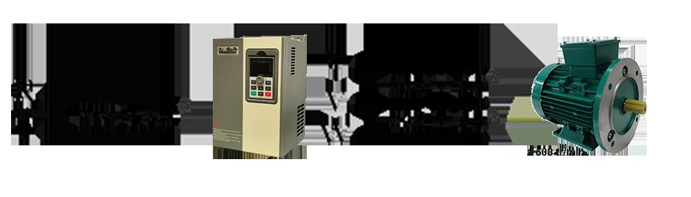 schéma explicant les différentes puissance d'un variateur de fréquence monophasé