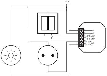 branchement relais bluetooth smartphone