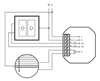 Module contrôleur de volets - PROXI_SMART_SHADE